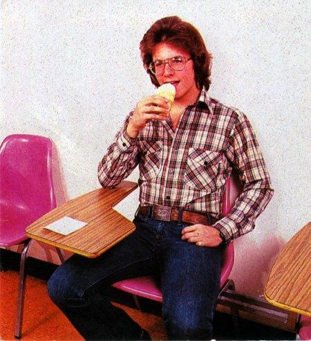1970s Dude Eating Ice Cream