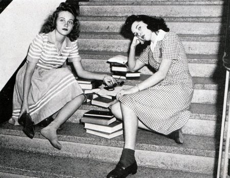 Vintage College Girls