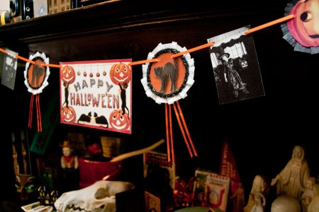 Vintage-Inspired Halloween Decorations