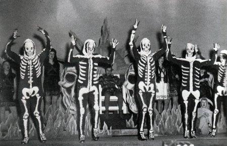 Vintage Skeleton Costumes