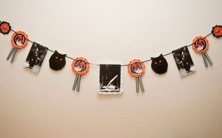 Magical Vintage-Inspired Halloween Witch Banner