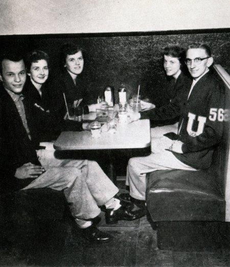 Vintage Diner College Students