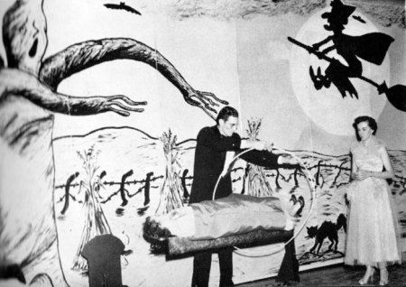 Vintage Magician Halloween