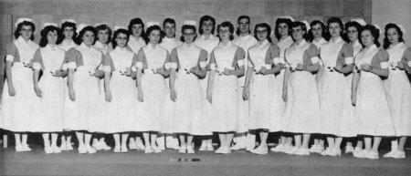 Vintage Nursing Students