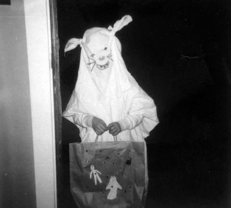 Scary Vintage Bunny Halloween Costume