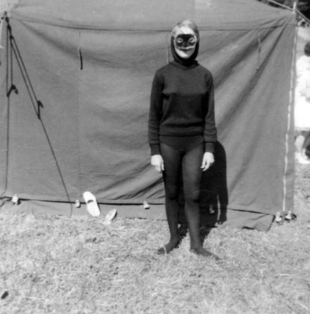 Vintage Masked Lady