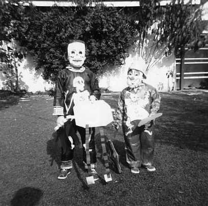 Spooky Vintage Skeleton
