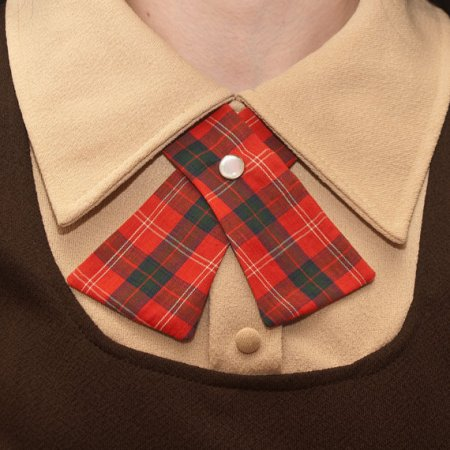 Plaid Women's Tie