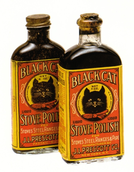 Vintage Black Cat Stove Polish