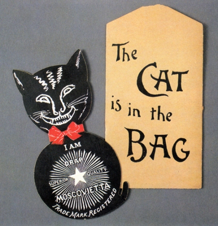 Victorian Black Cat Advertisement