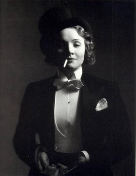 Marlene-Dietrich-Tuxedo