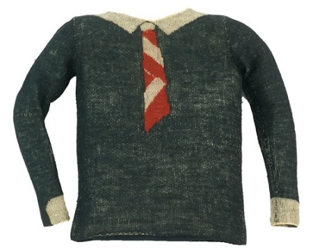 Elsa Schiaparelli sweater from the late 1920's via Henry Art Gallery Collections