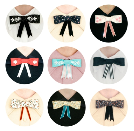 Bijou Ties by Flapper Girl