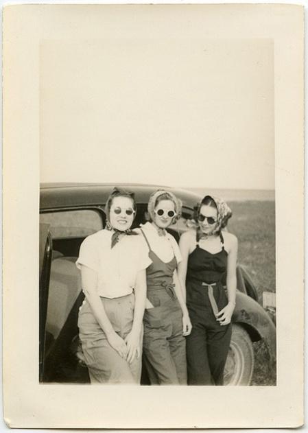 vintage road trip