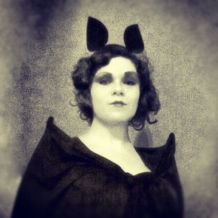 Halloween Inspiration Badass Bat Costume Flapper Girl